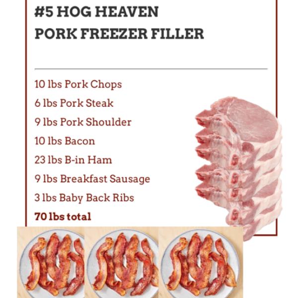 675ccdcc7726a6211cff6983b519a9dddc18147a 600x600 - #5 Hog Heaven Pork Freezer Filler