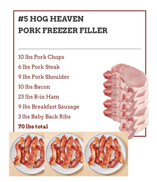 675ccdcc7726a6211cff6983b519a9dddc18147a 600x698 - #5 Hog Heaven Pork Freezer Filler