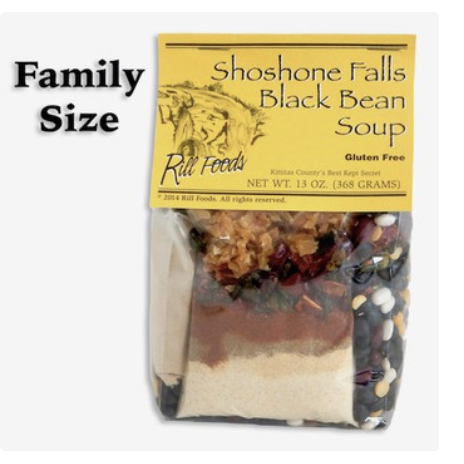 69e1b2cfdc2c067422f31f28d473616cde2d0930 - Rill Foods Shoshone Falls Black Bean (serves four)