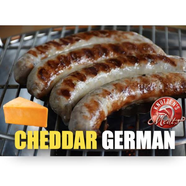 7099adaaee129a6c784078b4f006b1976899a4d8 600x600 - Cheddar German Sausage